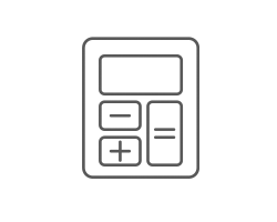Jaguar payment calculator icon