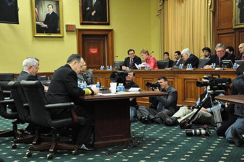 Defense defends budget on Capitol Hill