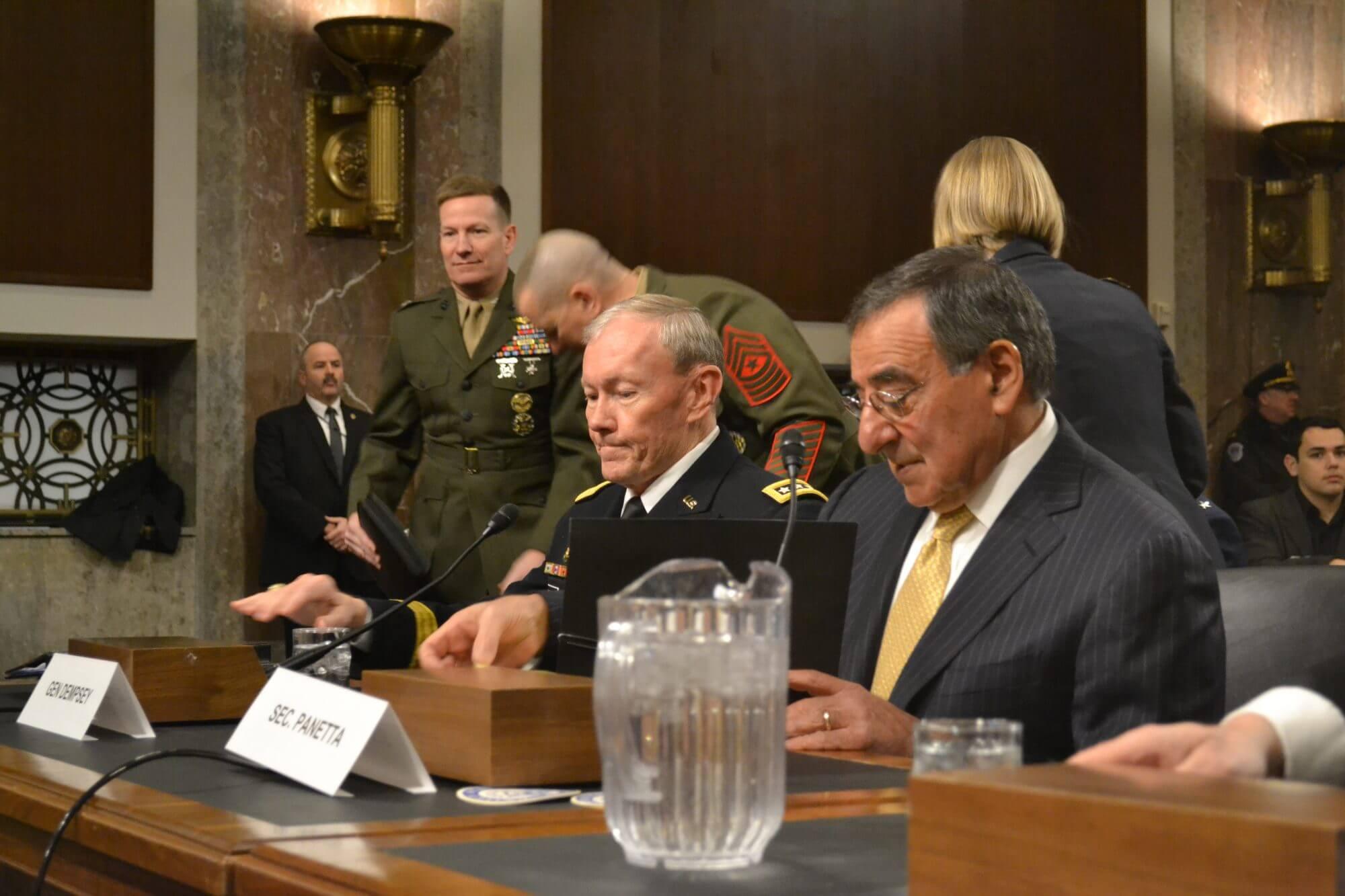 Pentagon defends leaner $525 billion budget