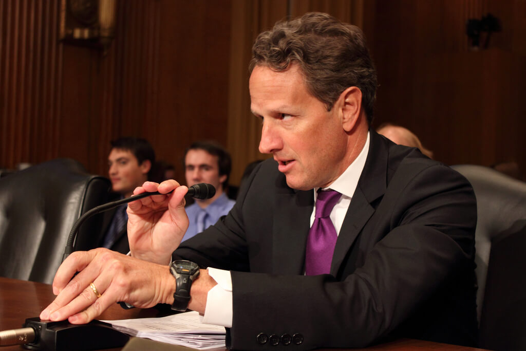 Geithner defends Obama budget, calls for 'modest' tax increases