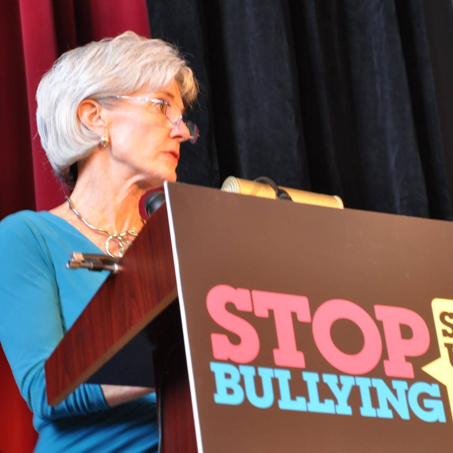 Sebelius tells students they 'need to be heard' for anti-bullying cause