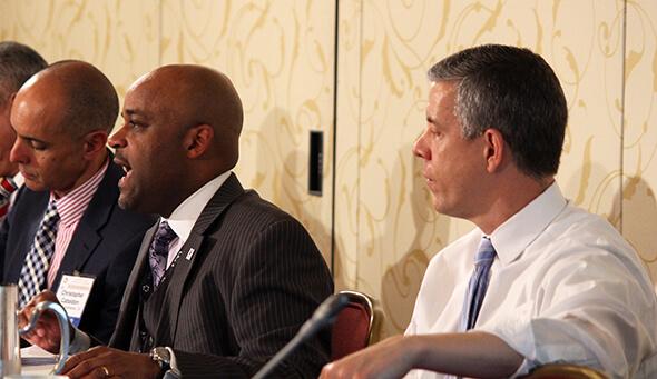 Mayors, Ed Secretary discuss local educational reform