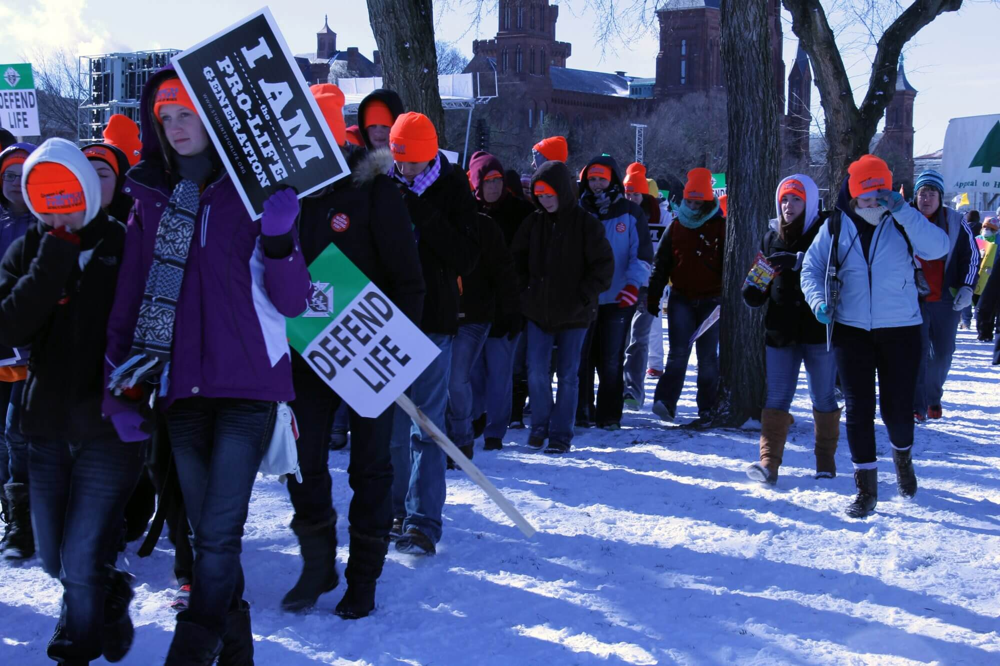 Slideshow: March for Life attracts thousands despite freezing temperatures
