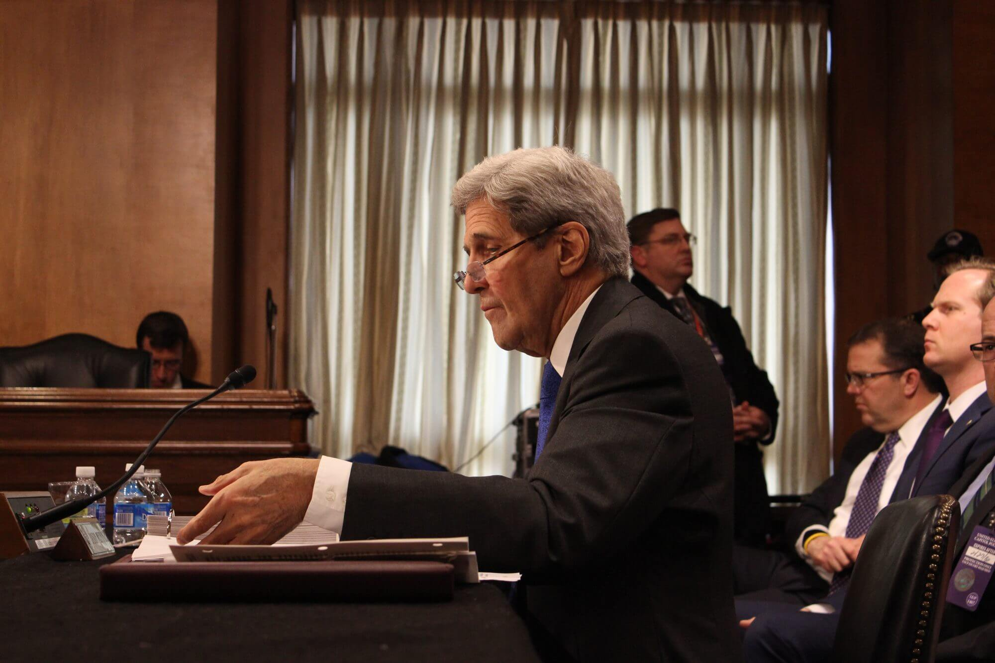 Kerry grilled on budget, foreign policy by GOP senators