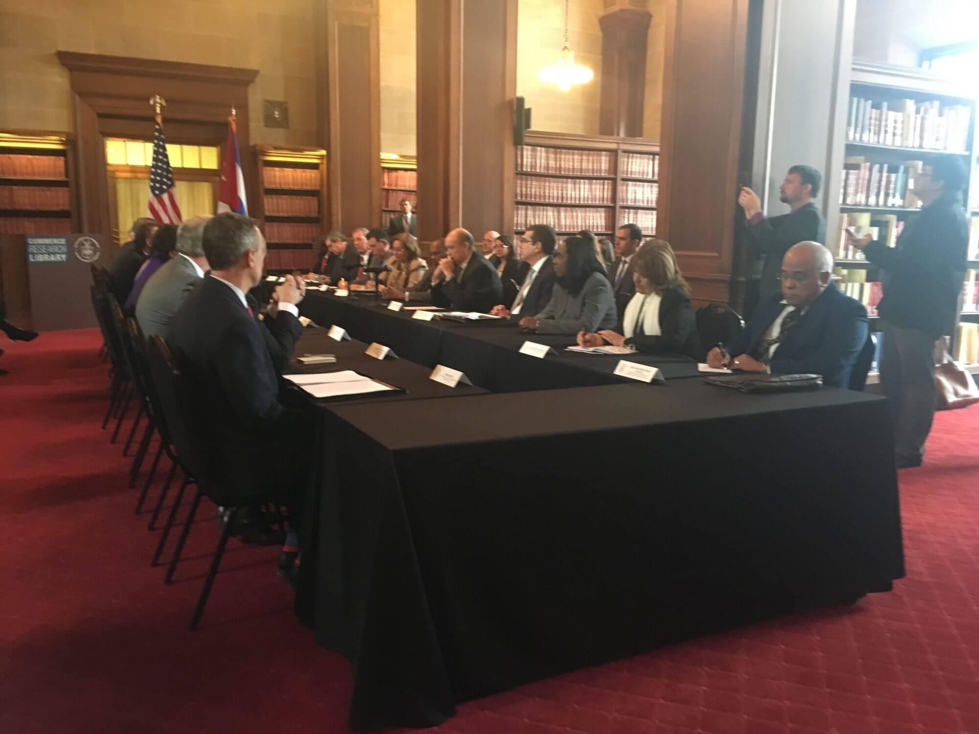 U.S., Cuba meet to discuss further business engagement