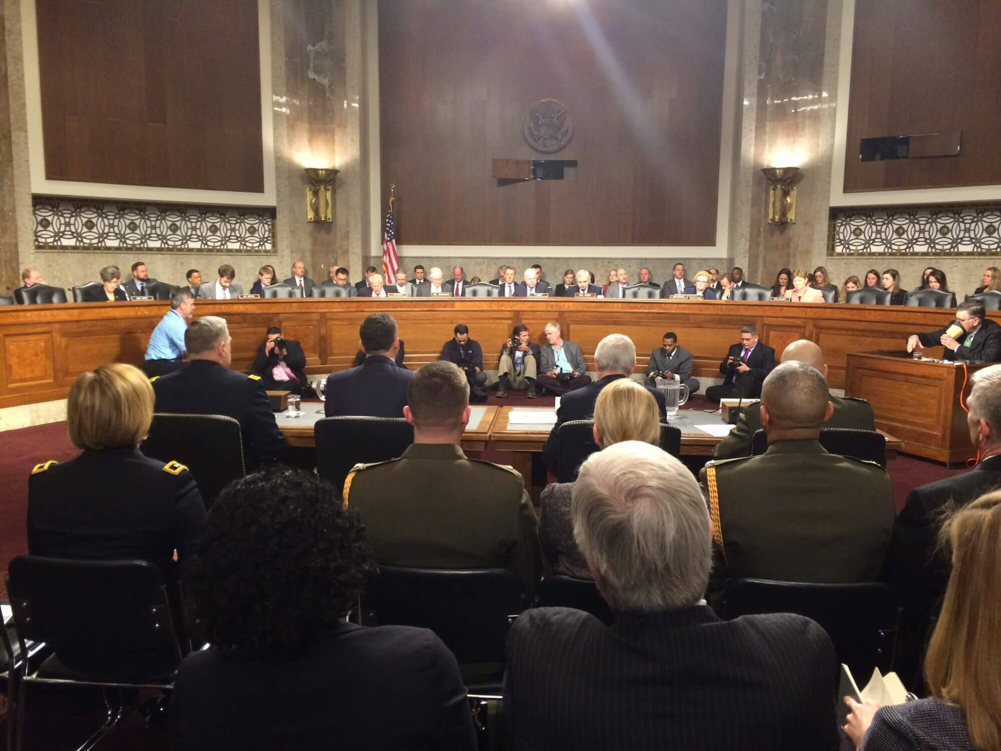 Military leadership says women should be included in draft