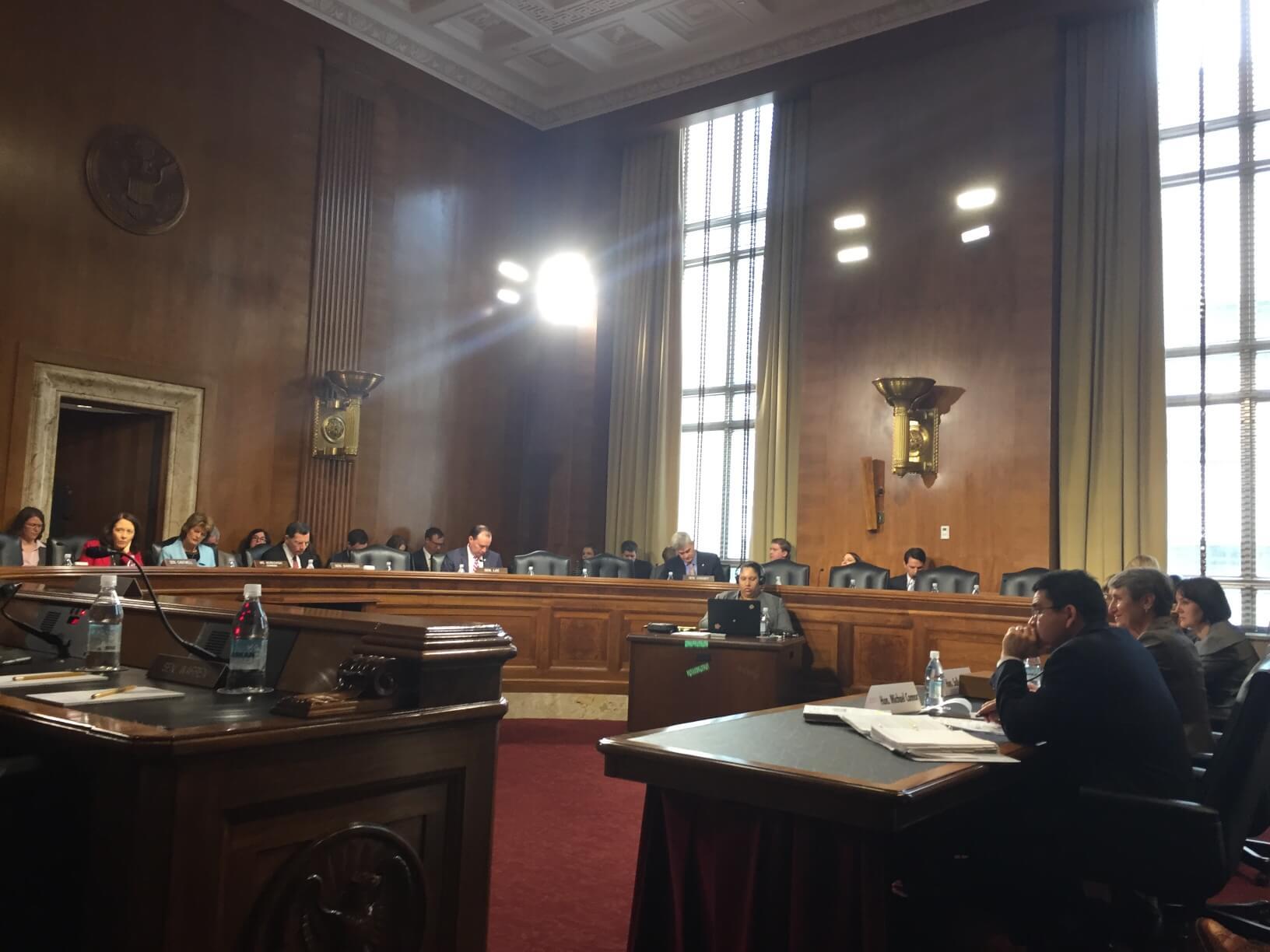 Senators criticize Interior Dept. budget for ending offshore revenue-sharing