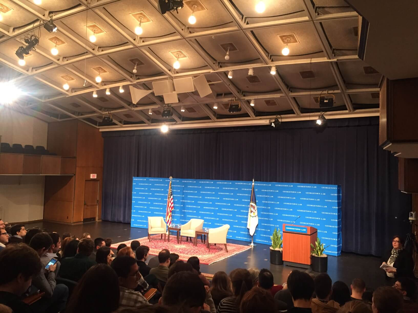 Supreme Court justice speaks at Georgetown Law School