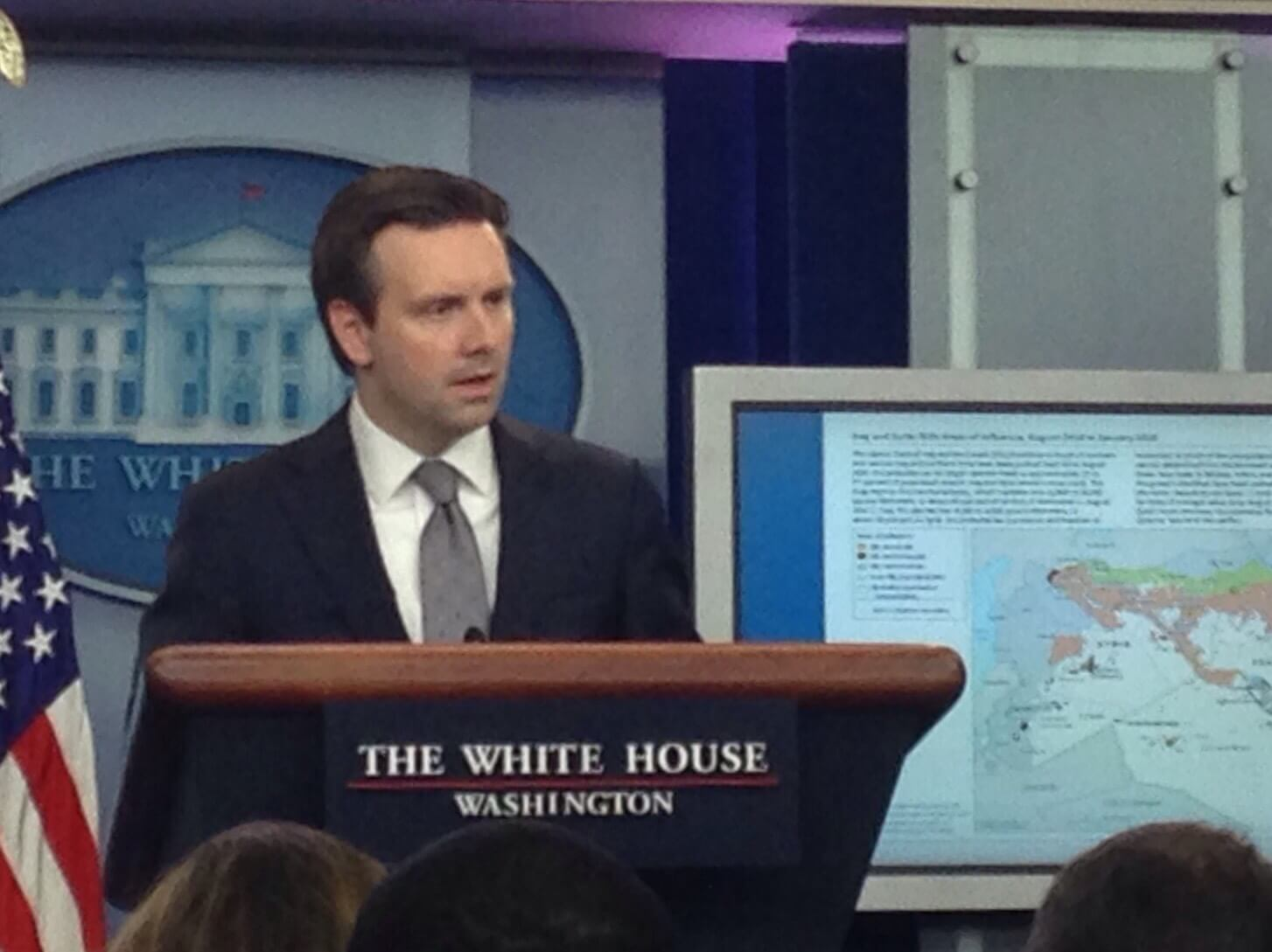 White House press secretary frustrated with Congress for not supporting Obama's Gitmo plan