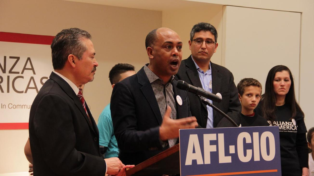 AFL-CIO protests federal deportations