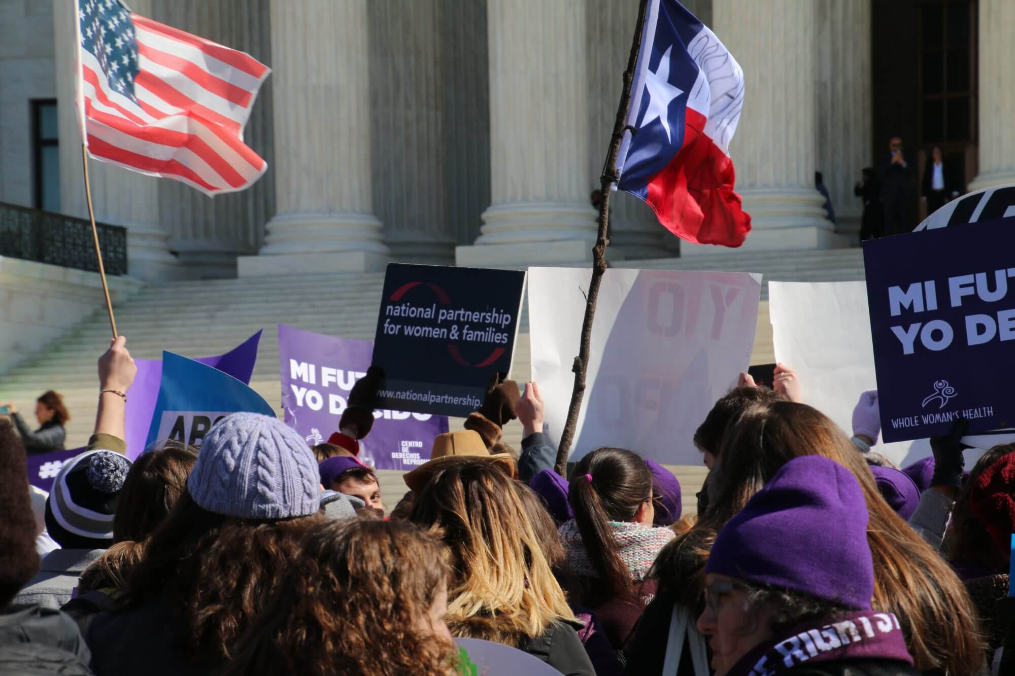 Undue burden standard tested in abortion case before the Supreme Court