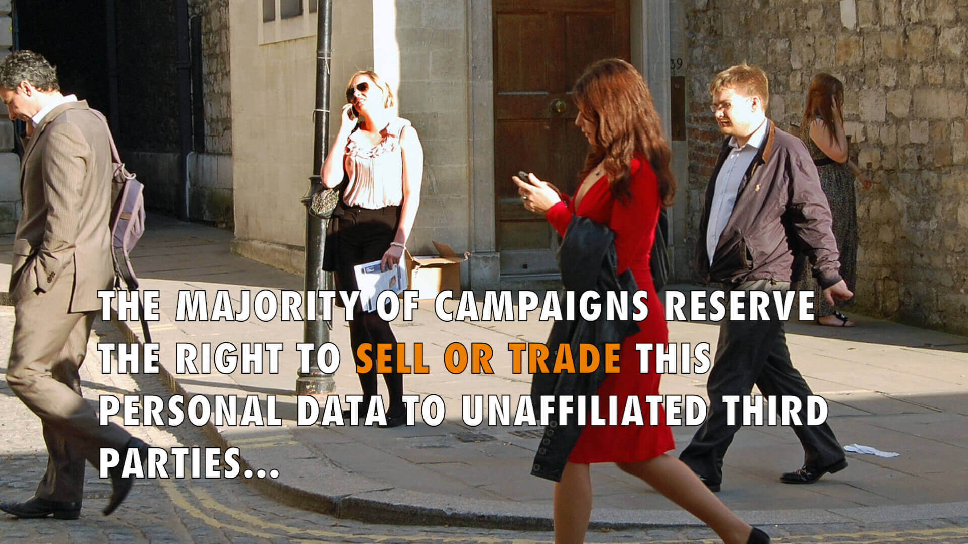 Are political campaigns protecting donor privacy?