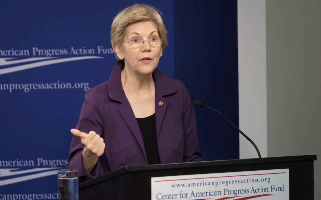 Warren pushes for a comprehensive economic agenda, denounces Trump's plans