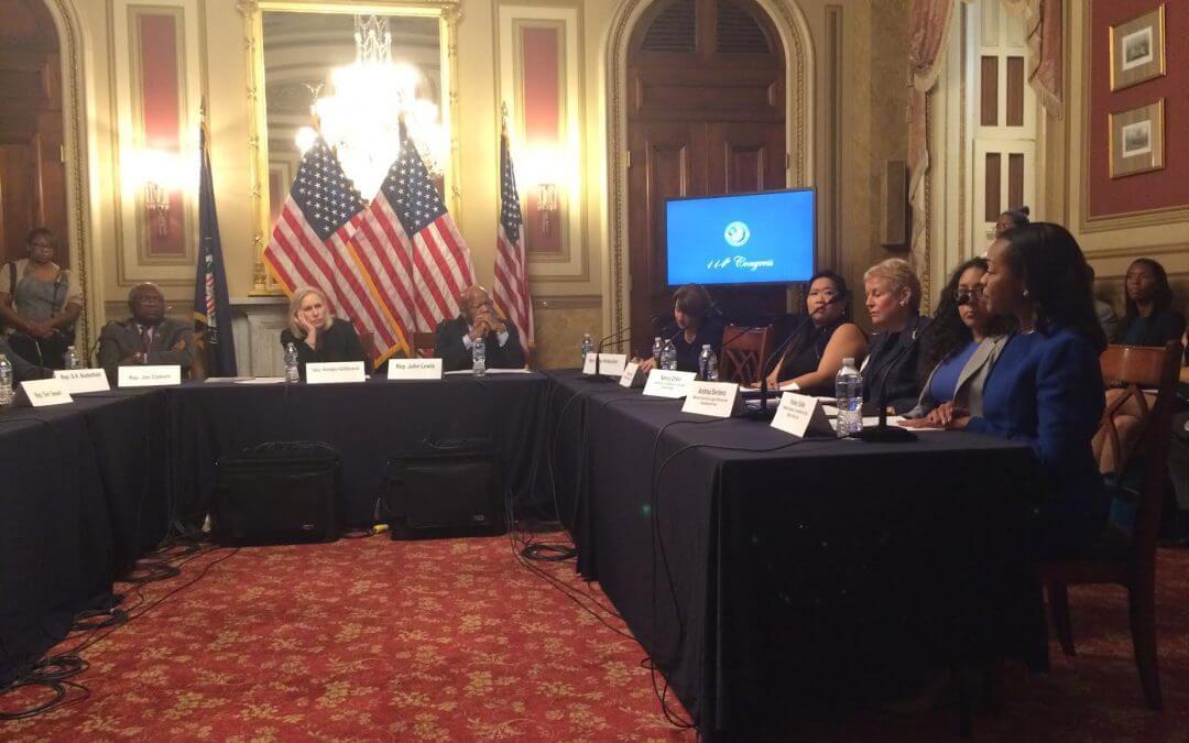 Congressional Democrats denounce Republican leadership for blocking voting rights bills