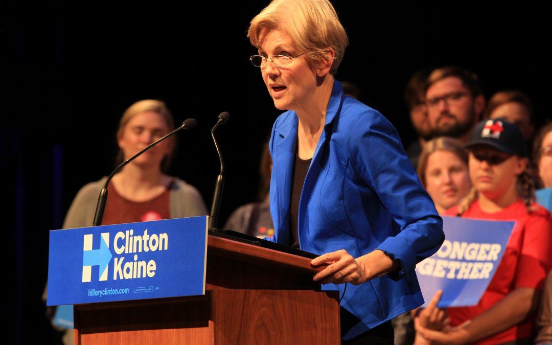 Warren campaigns for North Carolina U.S. Senate candidate Deborah Ross, not just Clinton