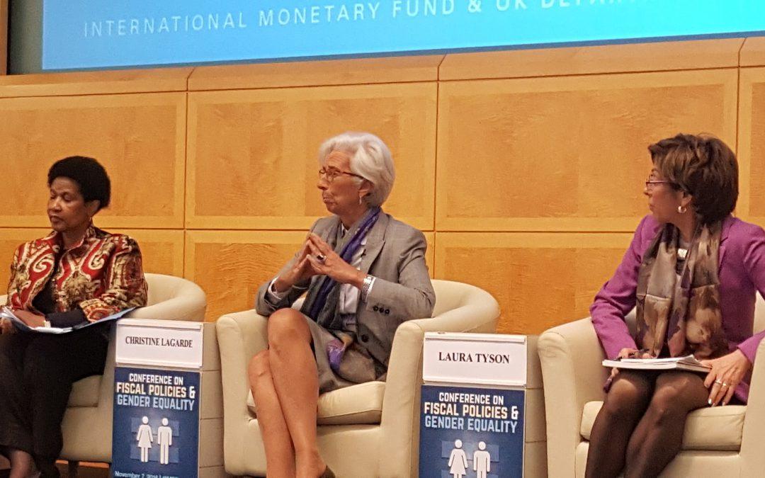IMF Managing director talks gender equality