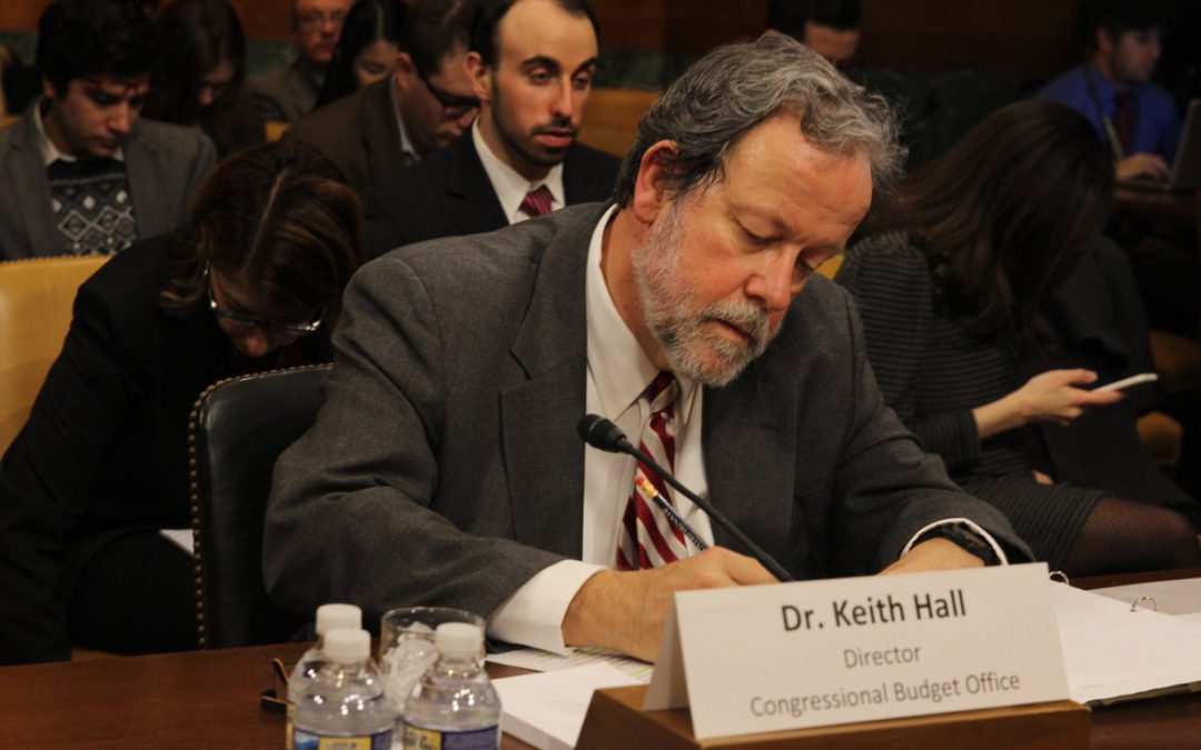 CBO chief warns that cuts could undermine legislative process