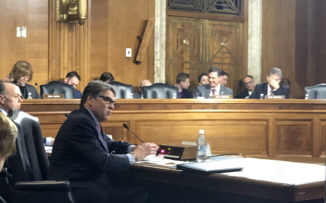 Energy Secretary Perry grilled on National Lab funding in the President's Budget