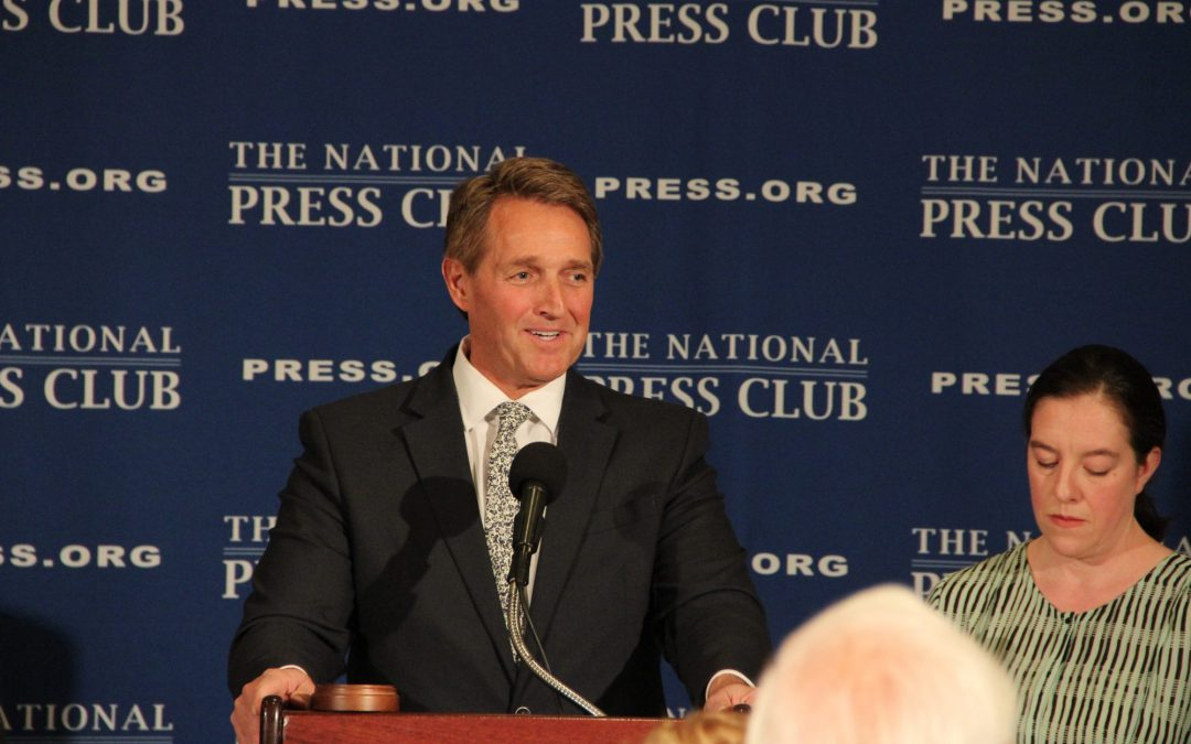 Flake urges for new Republican candidate, not Trump for 2020 presidential election