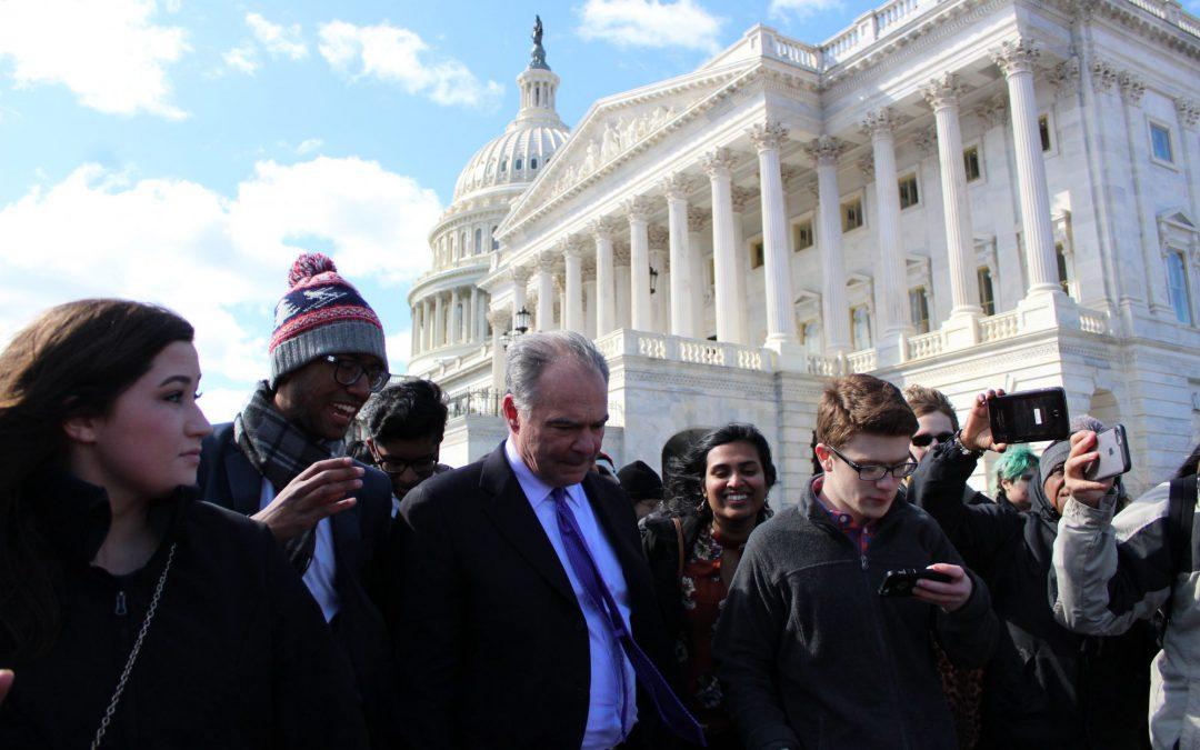 Students descend on Washington to protest gun violence