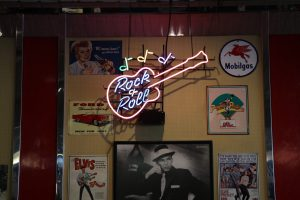1950s decor has filled the restaurant's walls since it opened in 1989. (Charlotte Walsh/MNS)