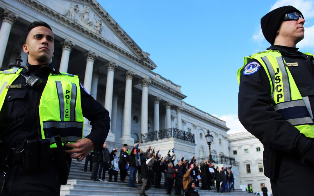 Protesters arrested at Capitol after demanding witnesses be admitted to impeachment trial