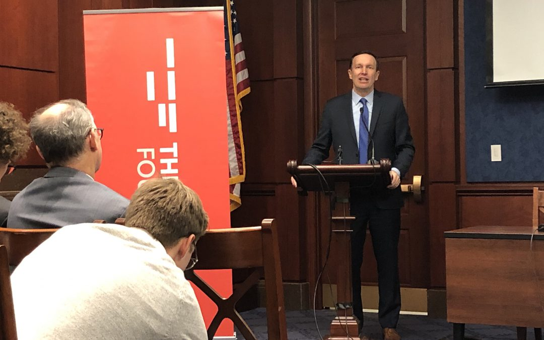 Democrats Murphy, Khanna discuss progressive foreign policy ahead of 2020 election