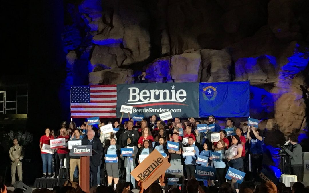 As primary moves to more diverse states, Sanders wins Nevada