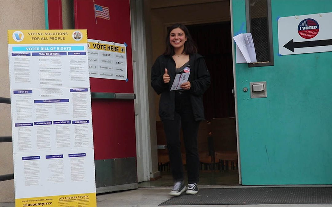 First-generation voters take to the polls in California primary