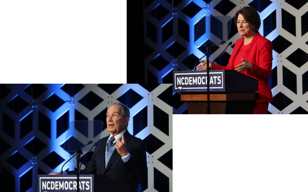 IN NORTH CAROLINA, DEMOCRATS EMPHASIZE UNITY AHEAD OF DECISIVE SUPER TUESDAY VOTE