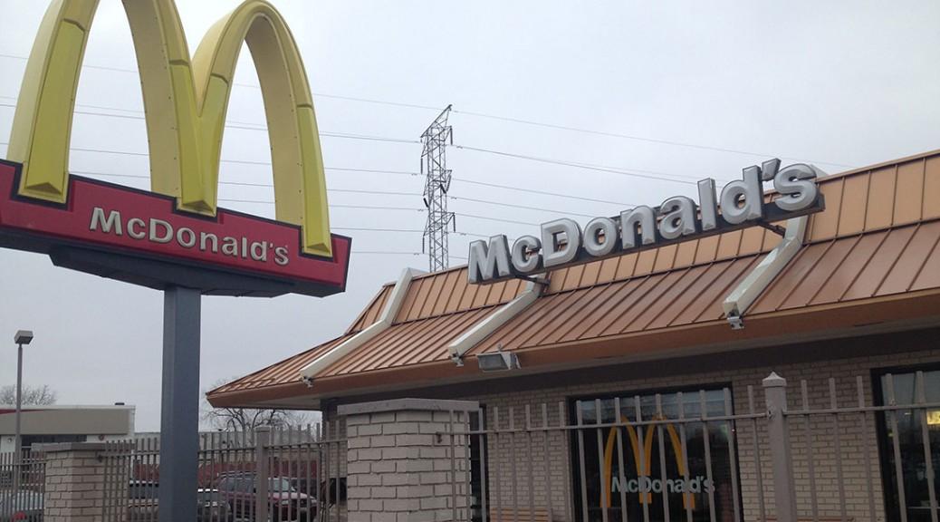A McDonald's location in Evanston, IL/Alysha Khan/Medill
