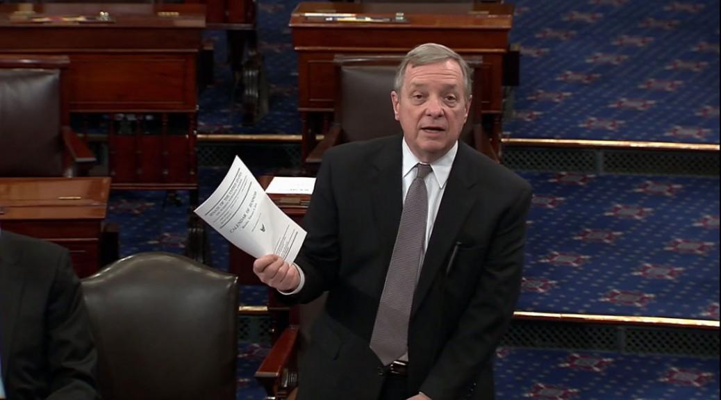 Dick Durbin on Senate floor