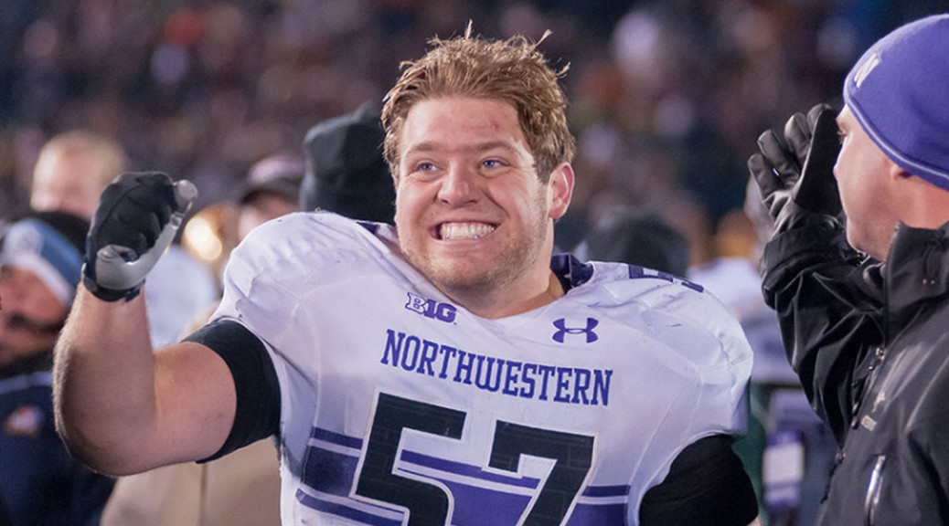 Matt Frazier, NU Football Player