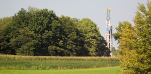 fracking gas well