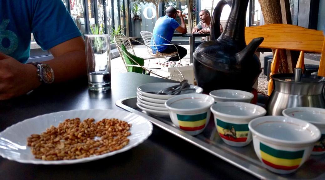 Ethiopian Coffee ceremony cups