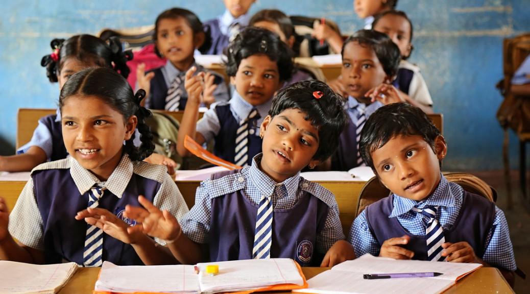 Children in Class at a Good Shepherd School