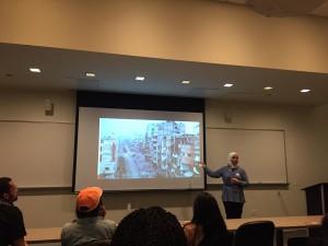 Sahloul at refugee awareness panel