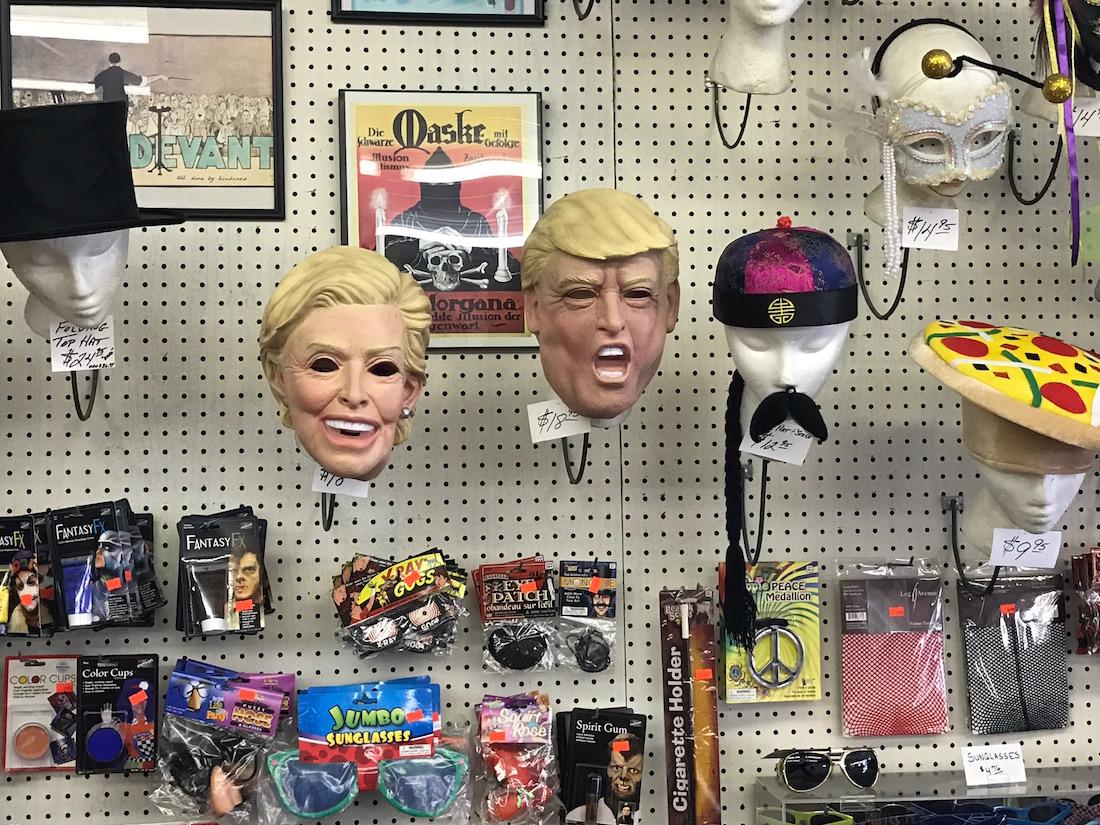 presdiential masks