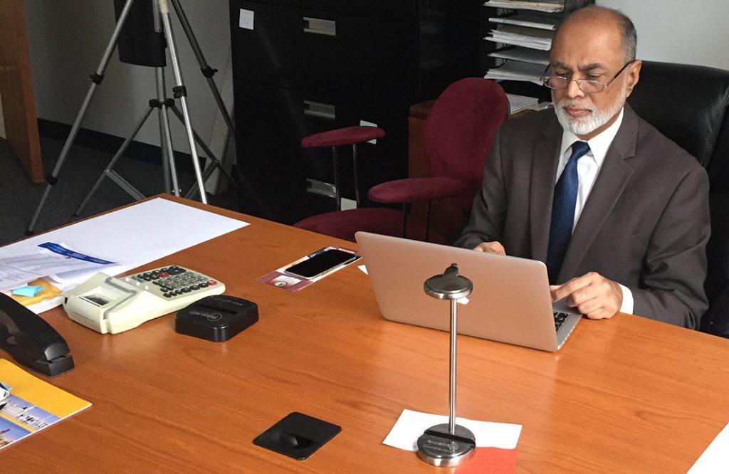 Entrepreneur and leader Imam Abdul Malik Mujahid