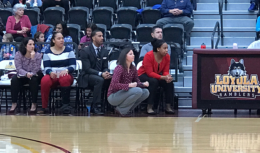 Loyola women's basketball coaches