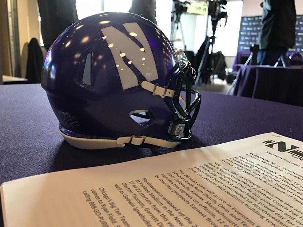 Northwestern signing day