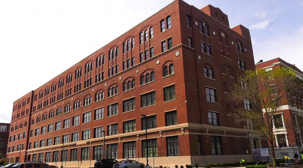 Mercy Housing turns the Former Sears headquarters on Chicago's West Side into an affordable housing project. (Shen Lu/MEDILL)