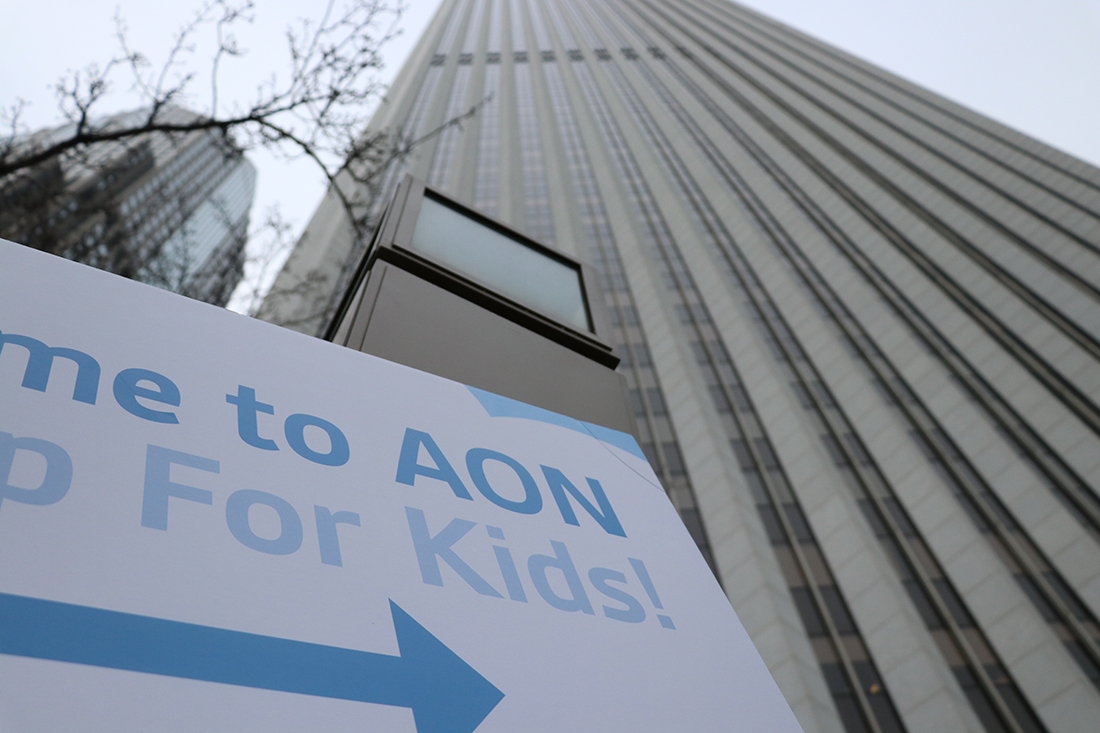 The 21st Aon building Step Up