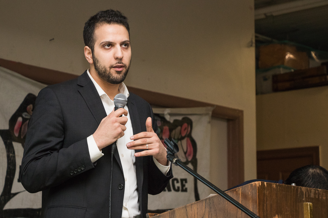 Abdelnasser Rashid of Our Revolution, Illinois