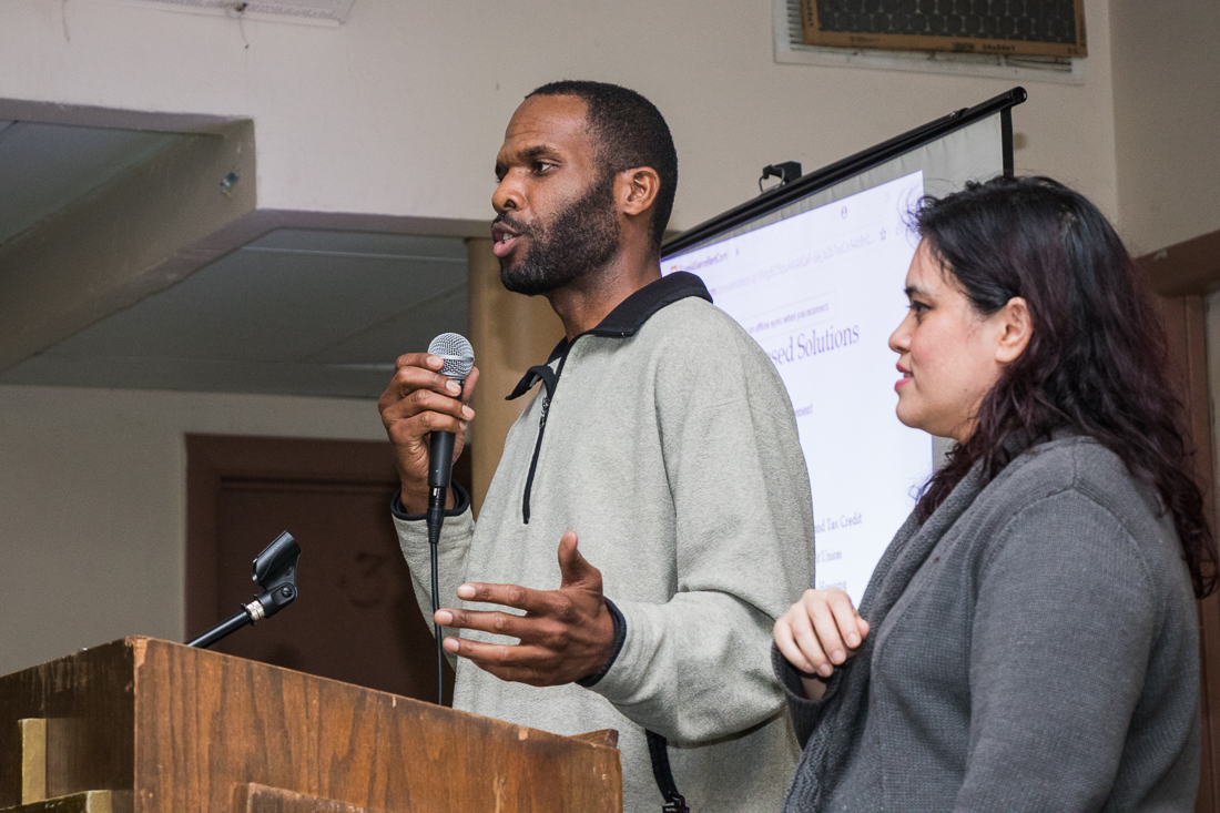 Jawanza Malone of the Lift the Ban Coalition