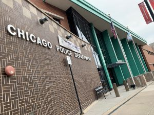 A Chicago police station