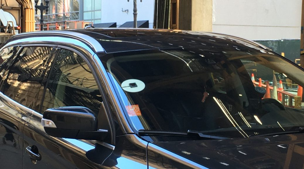 An Uber in Chicago