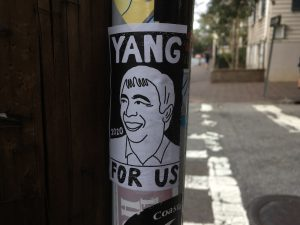 Andrew Yang sticker