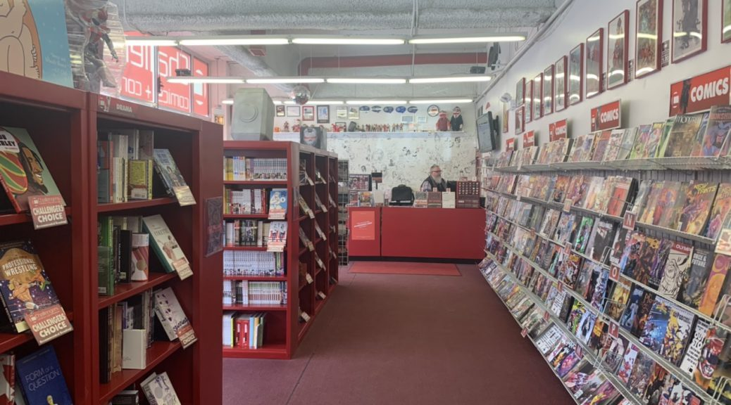 Inside Challengers Comics and Conversation