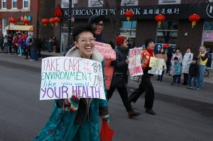 Phyllis Liu at the Chinatown Parade
